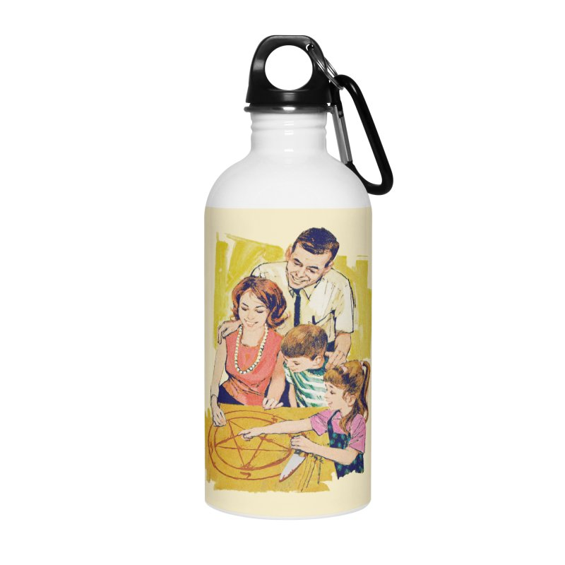 Family Summoning Accessories Water Bottle by Tom Burns
