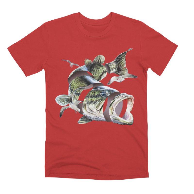 Flying Fish Men's Premium T-Shirt by Tom Burns