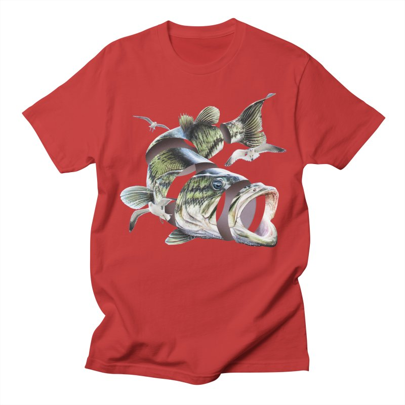 Flying Fish Women's Regular Unisex T-Shirt by Tom Burns