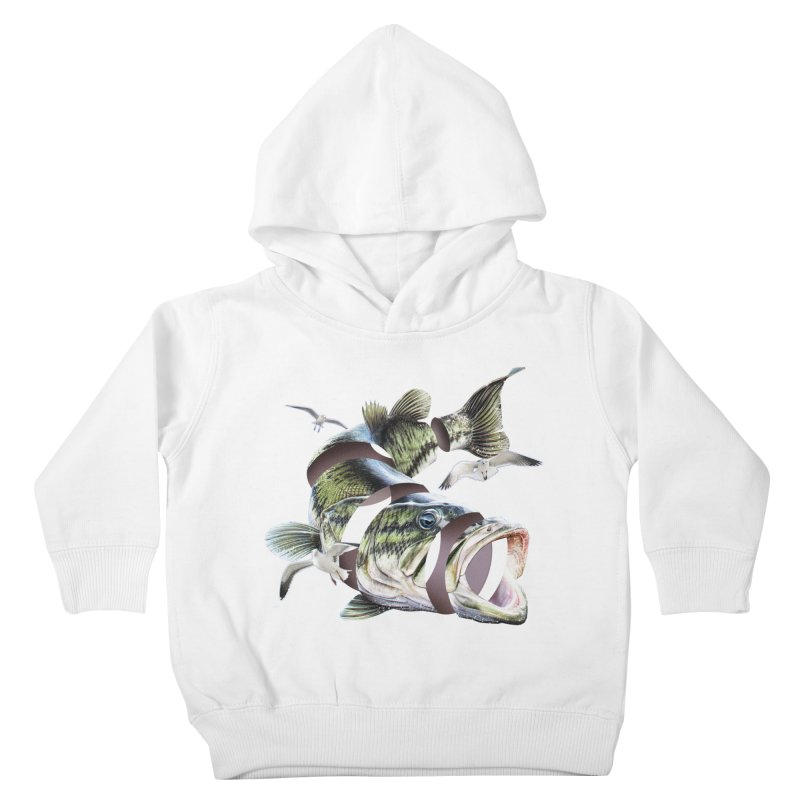 Flying Fish Kids Toddler Pullover Hoody by Tom Burns