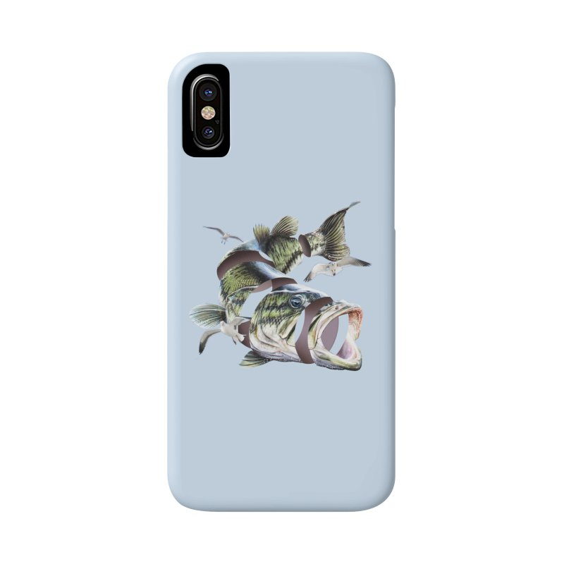 Flying Fish Accessories Phone Case by Tom Burns