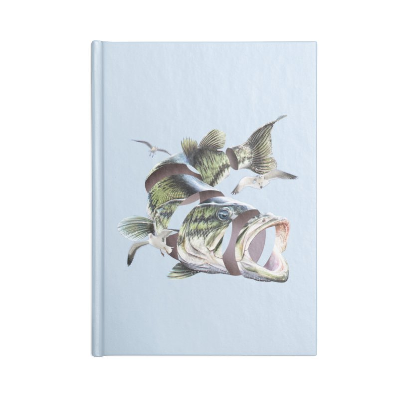 Flying Fish Accessories Blank Journal Notebook by Tom Burns