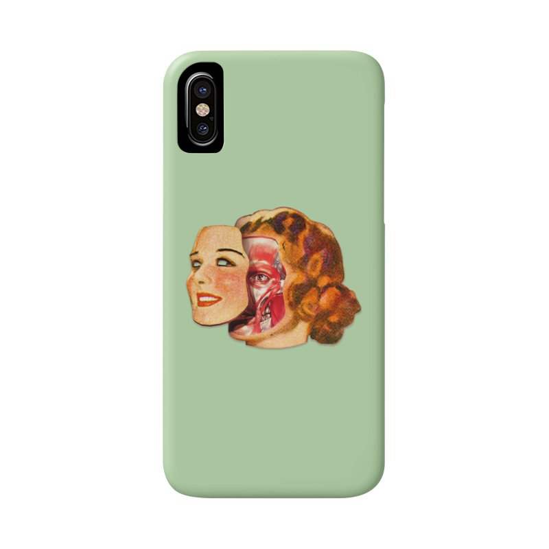 Lady Muscleface Accessories Phone Case by Tom Burns