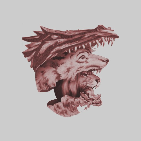 image for Lions Dragons Wolves Oh My