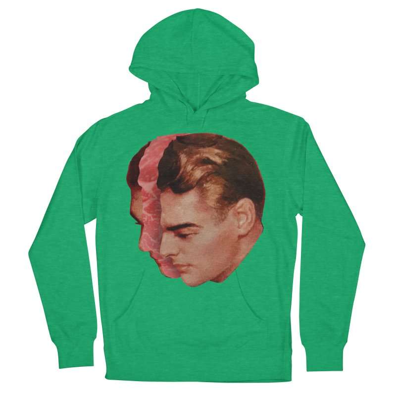Meat Head Women's French Terry Pullover Hoody by Tom Burns