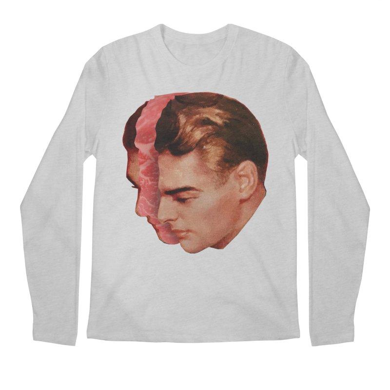Meat Head Men's Regular Longsleeve T-Shirt by Tom Burns