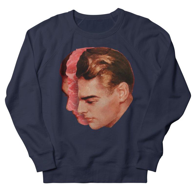 Meat Head Men's French Terry Sweatshirt by Tom Burns