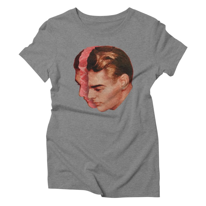 Meat Head Women's Triblend T-Shirt by Tom Burns