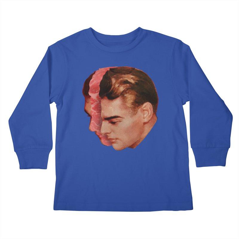 Meat Head Kids Longsleeve T-Shirt by Tom Burns