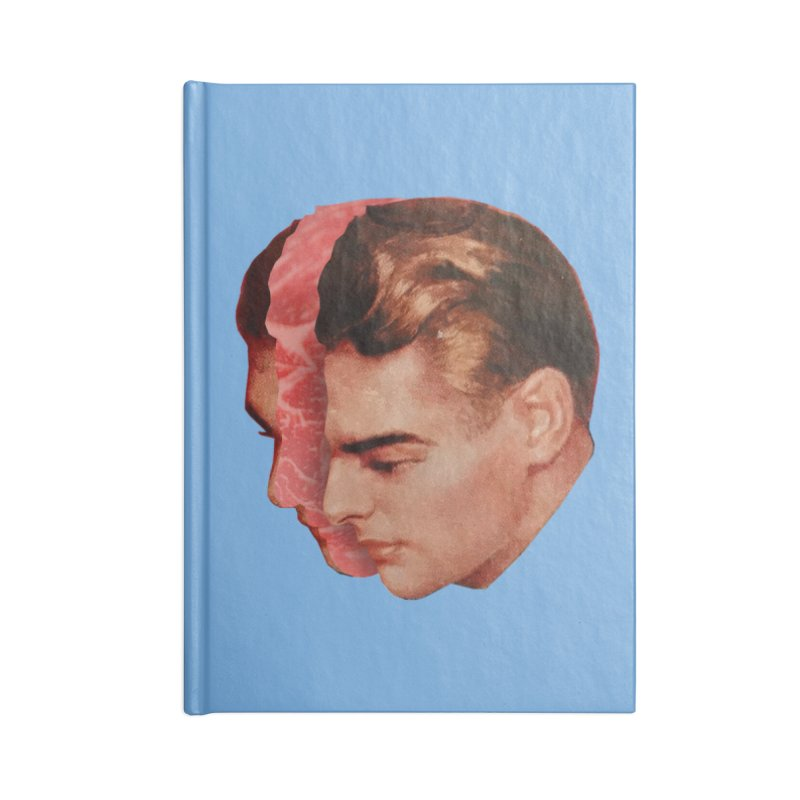 Meat Head Accessories Blank Journal Notebook by Tom Burns
