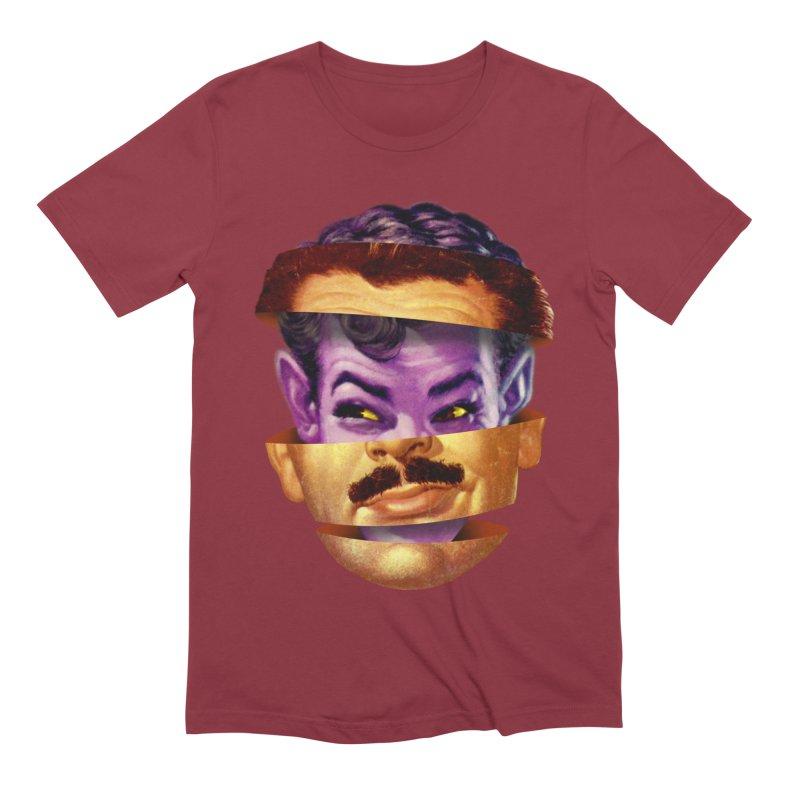 Purple Man Men's Extra Soft T-Shirt by Tom Burns