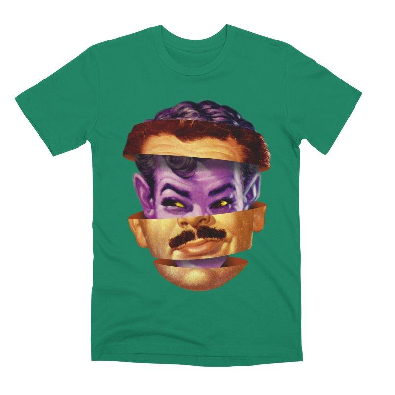 Purple Man Men's Premium T-Shirt by Tom Burns