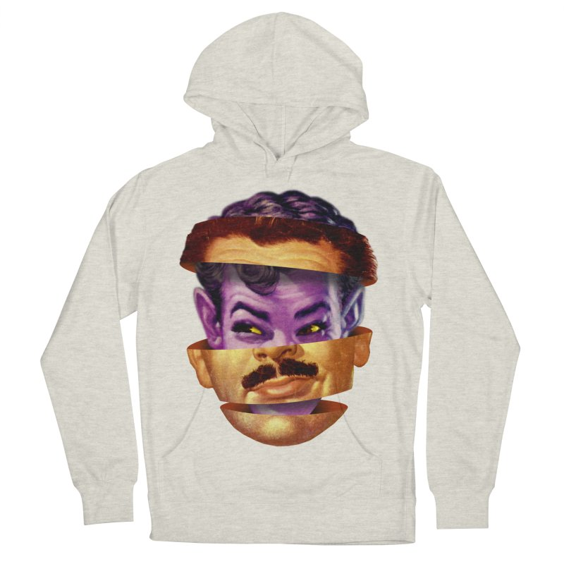Purple Man Men's French Terry Pullover Hoody by Tom Burns