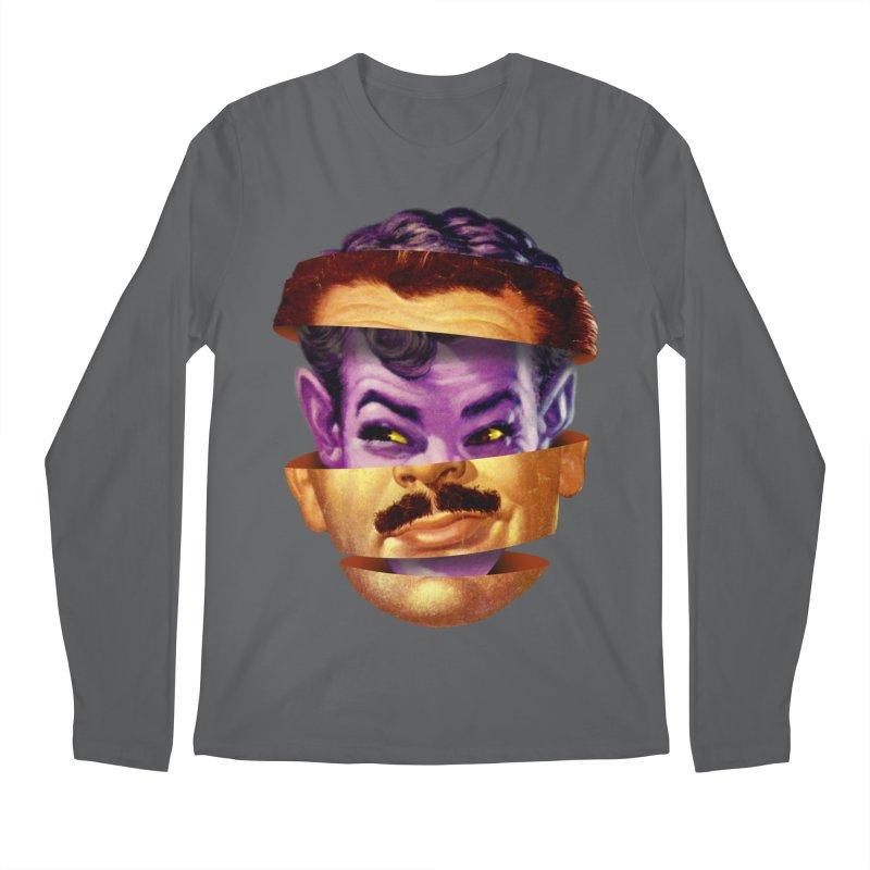 Purple Man Men's Regular Longsleeve T-Shirt by Tom Burns