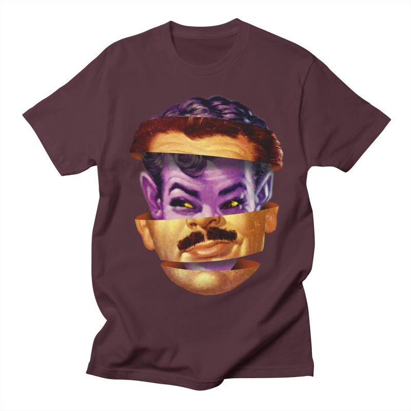 Purple Man Men's Regular T-Shirt by Tom Burns