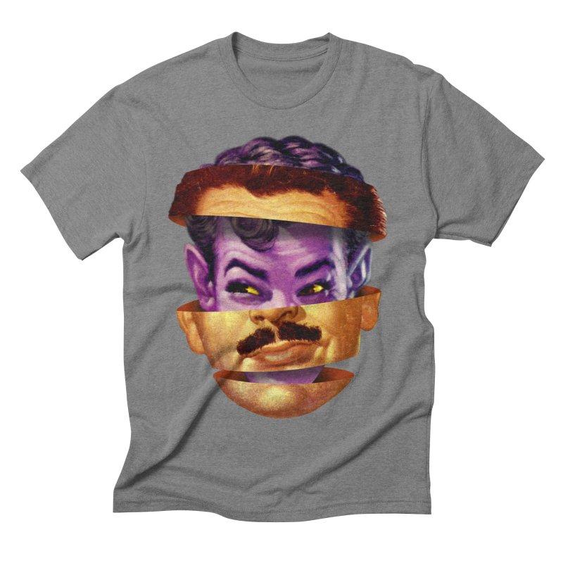 Purple Man Men's Triblend T-Shirt by Tom Burns