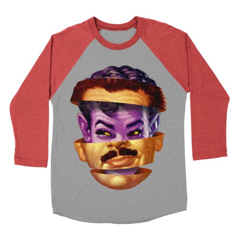 Purple Man Women's Baseball Triblend Longsleeve T-Shirt by Tom Burns