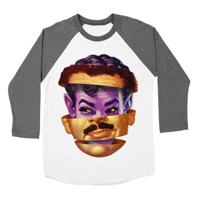 Purple Man Men's Baseball Triblend Longsleeve T-Shirt by Tom Burns