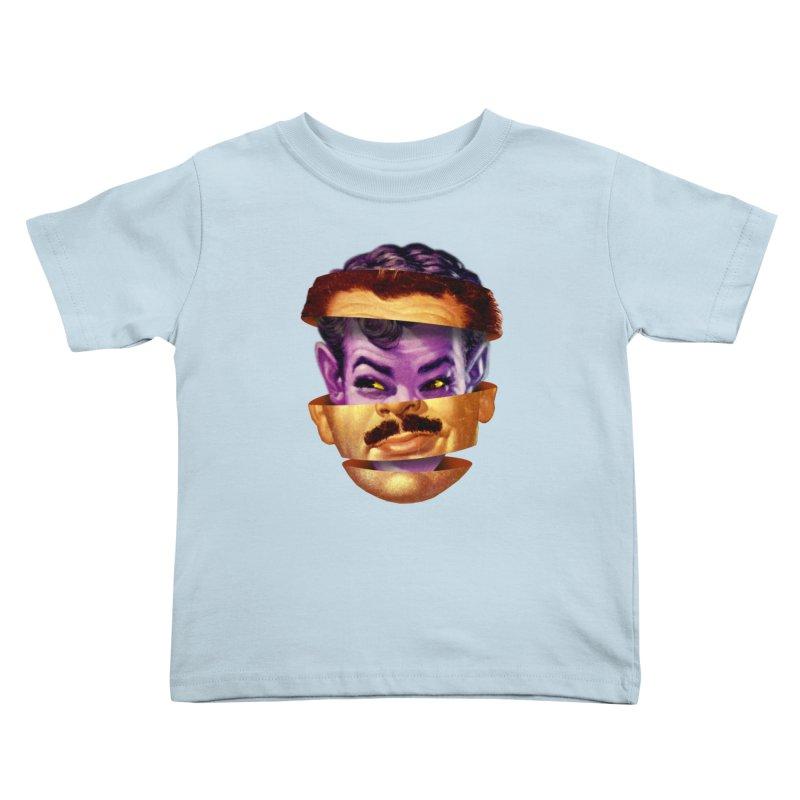 Purple Man Kids Toddler T-Shirt by Tom Burns