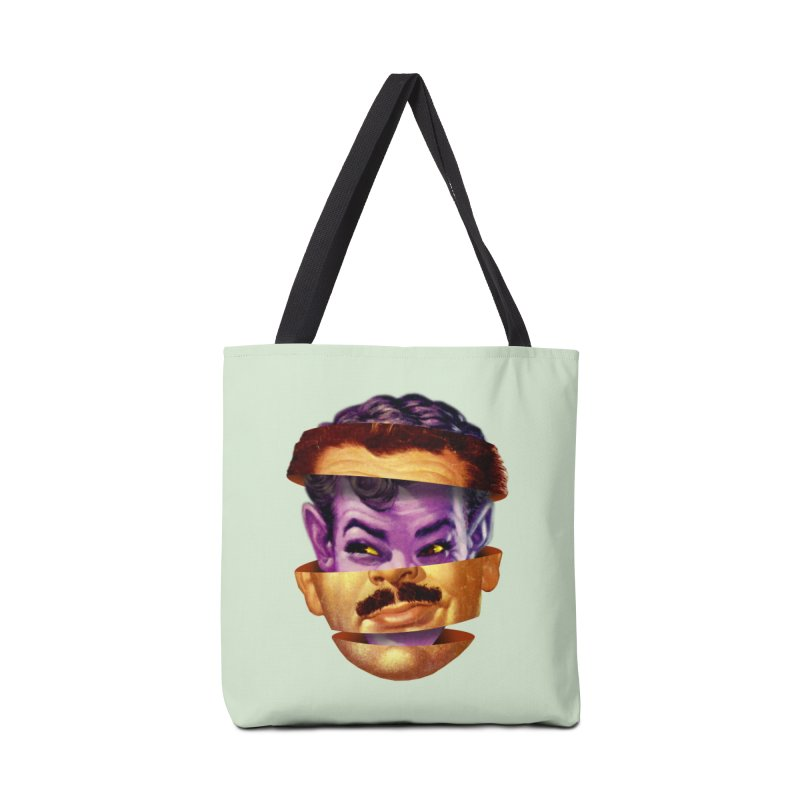 Purple Man Accessories Tote Bag Bag by Tom Burns
