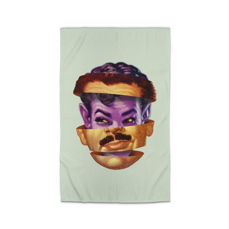 Purple Man Home Rug by Tom Burns