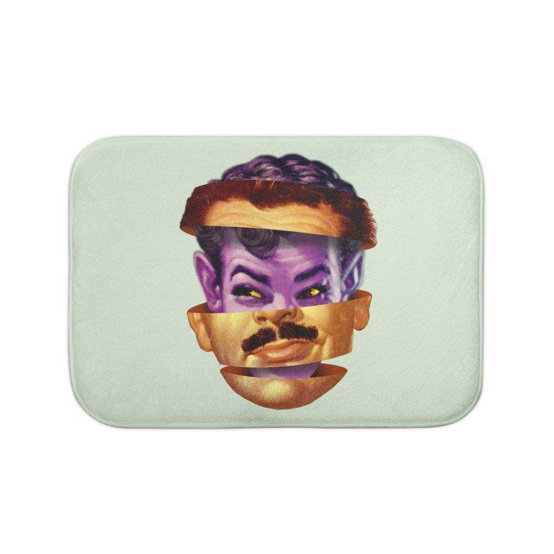 Purple Man Home Bath Mat by Tom Burns