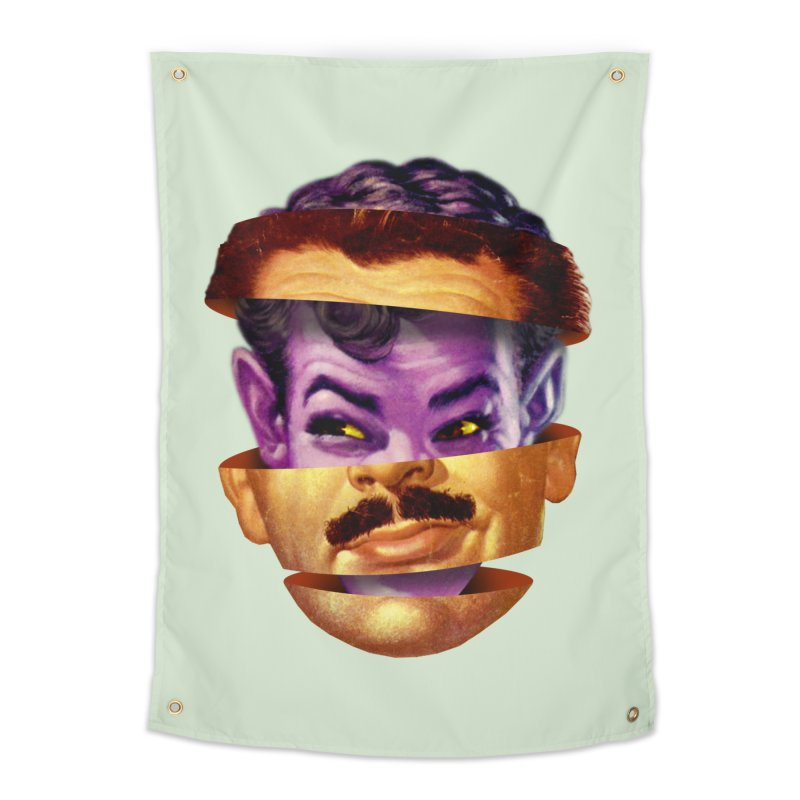 Purple Man Home Tapestry by Tom Burns