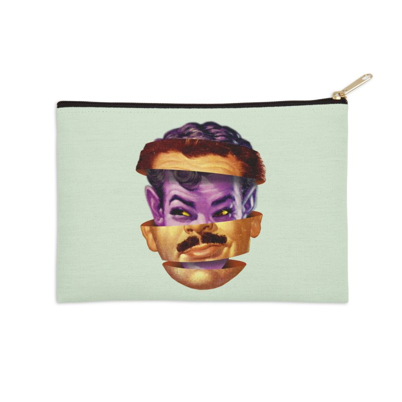 Purple Man Accessories Zip Pouch by Tom Burns