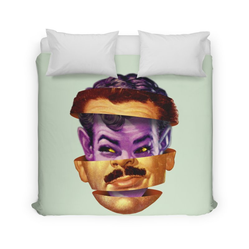 Purple Man Home Duvet by Tom Burns