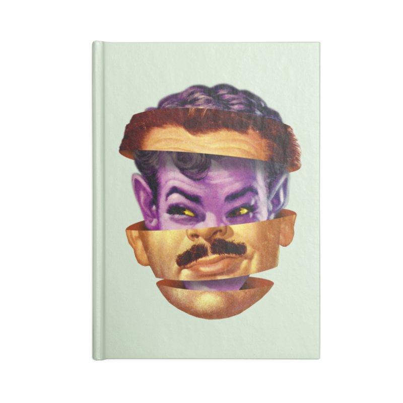 Purple Man Accessories Blank Journal Notebook by Tom Burns