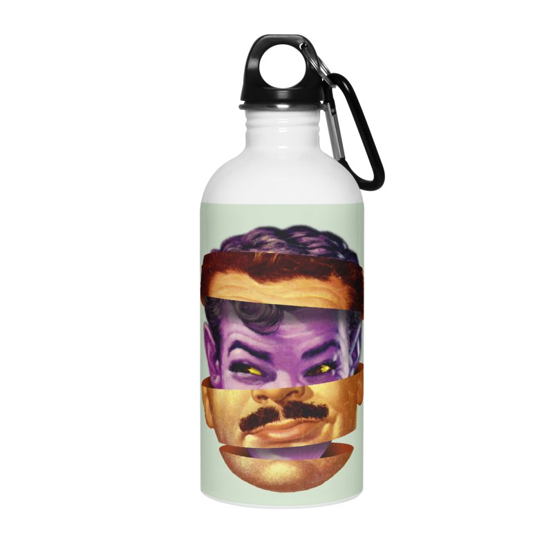 Purple Man Accessories Water Bottle by Tom Burns