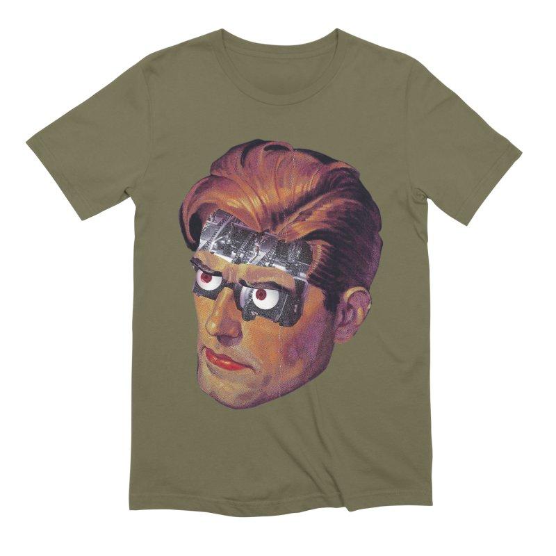 RoboDude Men's Extra Soft T-Shirt by Tom Burns