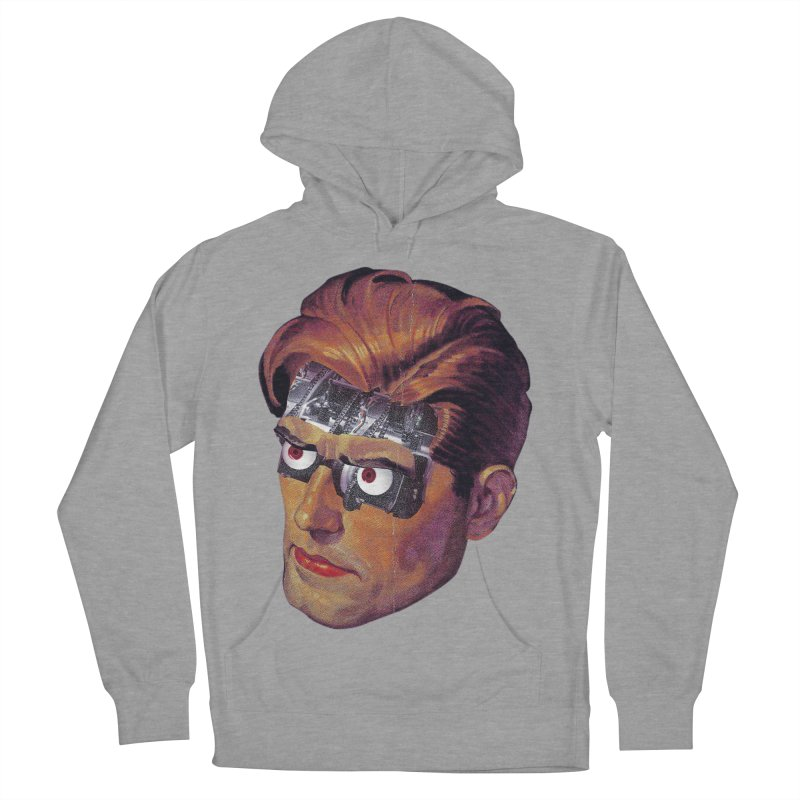 RoboDude Women's French Terry Pullover Hoody by Tom Burns