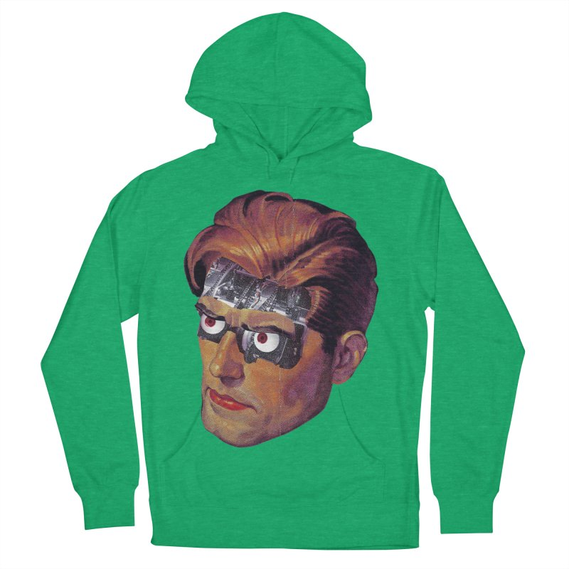 RoboDude Men's French Terry Pullover Hoody by Tom Burns