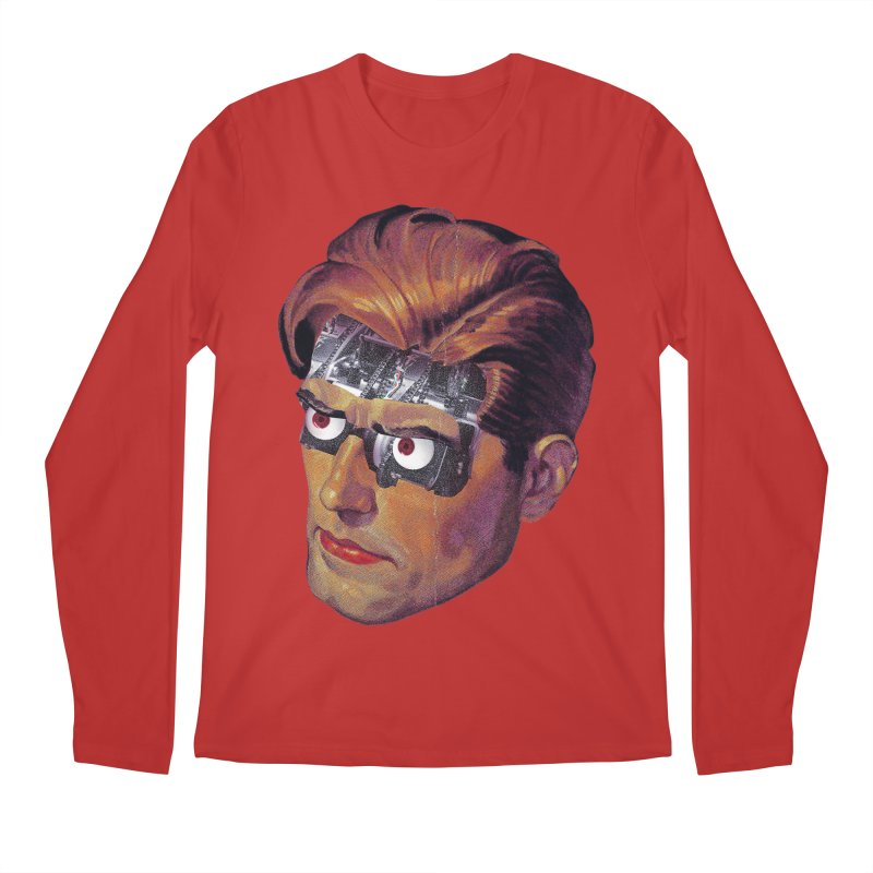 RoboDude Men's Regular Longsleeve T-Shirt by Tom Burns