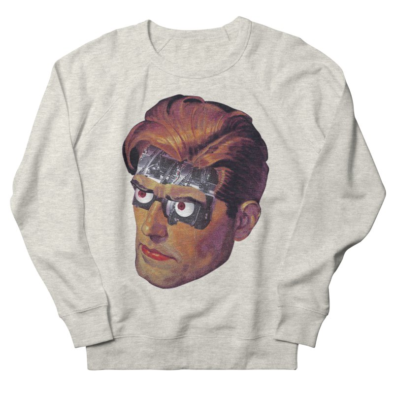 RoboDude Women's French Terry Sweatshirt by Tom Burns