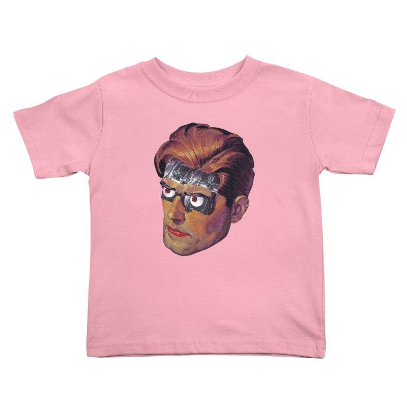 RoboDude Kids Toddler T-Shirt by Tom Burns