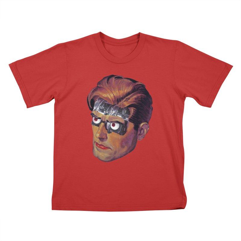 RoboDude Kids T-Shirt by Tom Burns