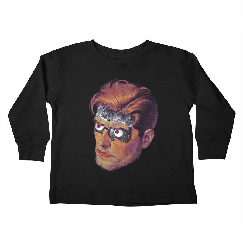 RoboDude Kids Toddler Longsleeve T-Shirt by Tom Burns