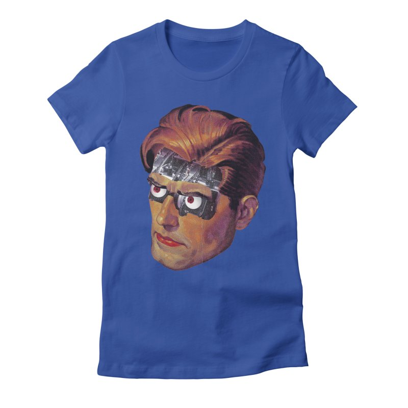 RoboDude Women's Fitted T-Shirt by Tom Burns