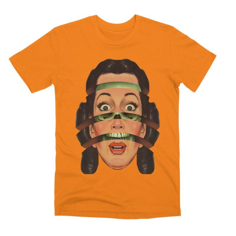 Skullhead Girl Men's Premium T-Shirt by Tom Burns