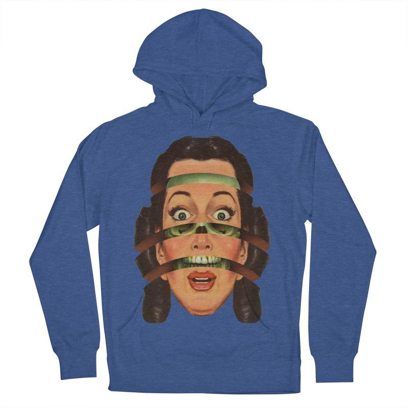 Skullhead Girl Women's French Terry Pullover Hoody by Tom Burns