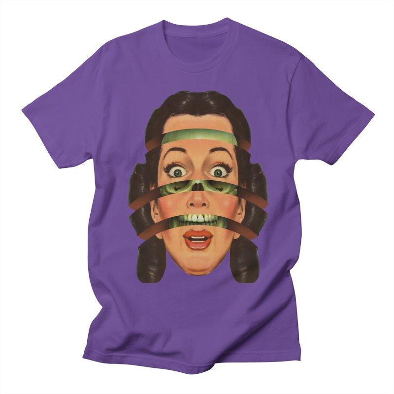 Skullhead Girl Women's Regular Unisex T-Shirt by Tom Burns