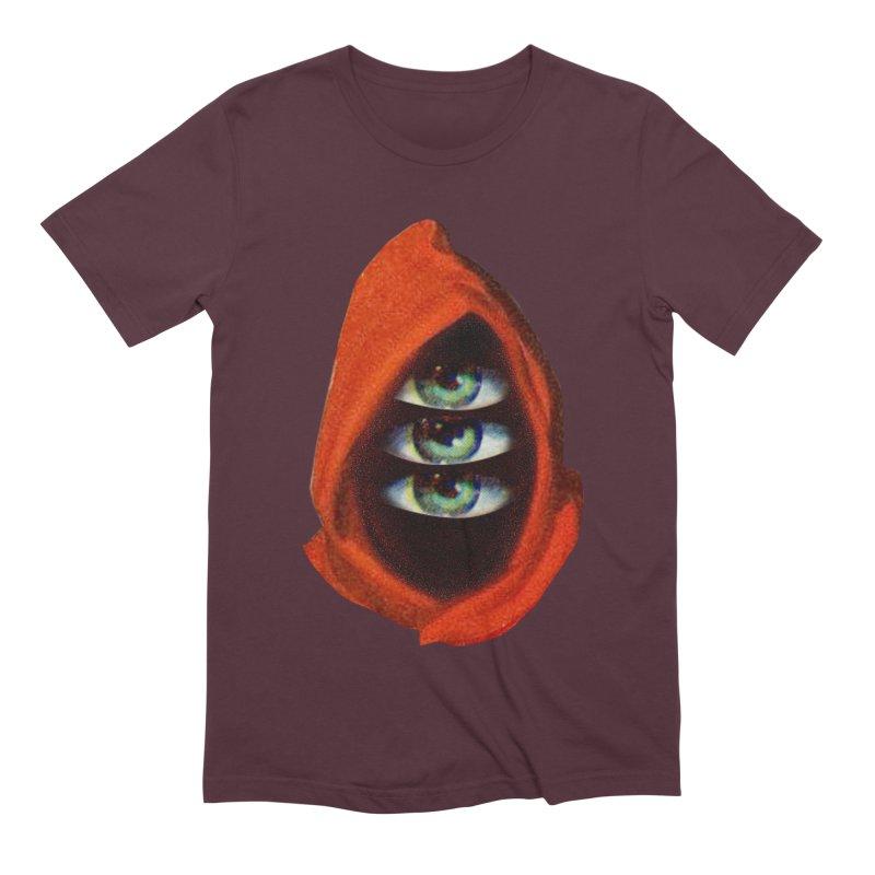 Three Eyed Druid Men's Extra Soft T-Shirt by Tom Burns