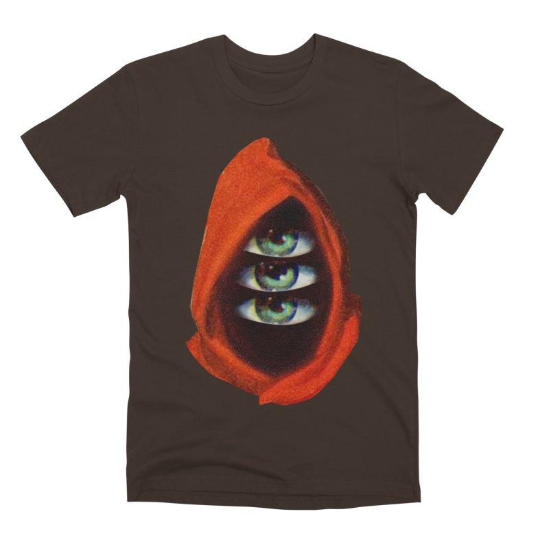 Three Eyed Druid Men's Premium T-Shirt by Tom Burns