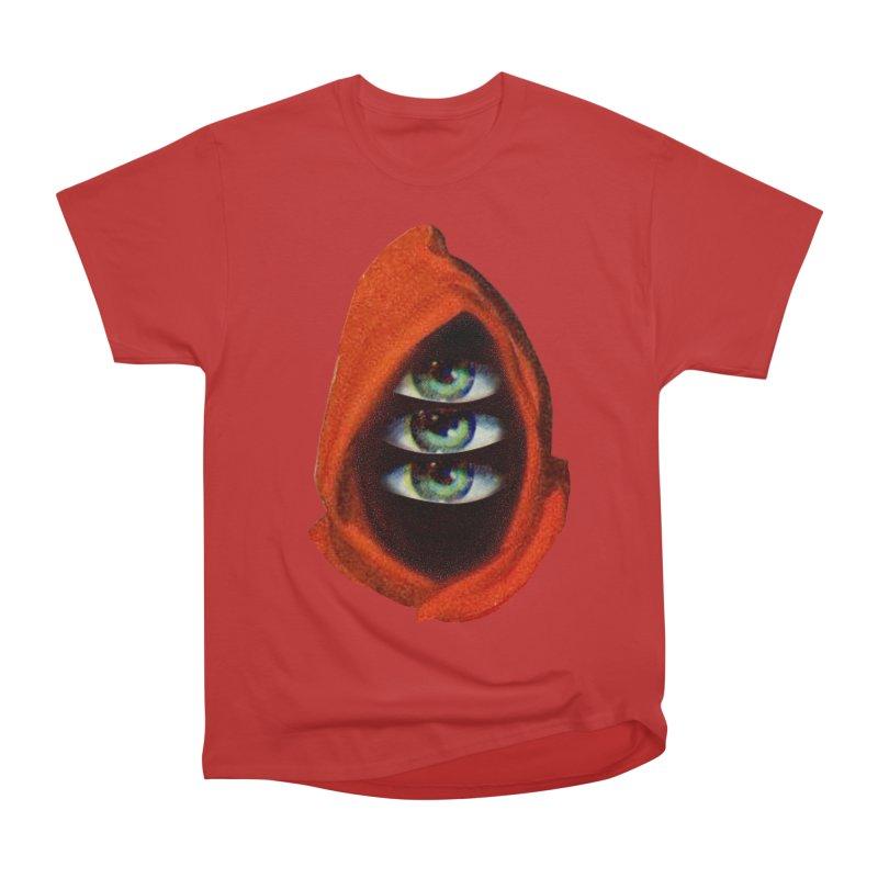Three Eyed Druid Women's Heavyweight Unisex T-Shirt by Tom Burns