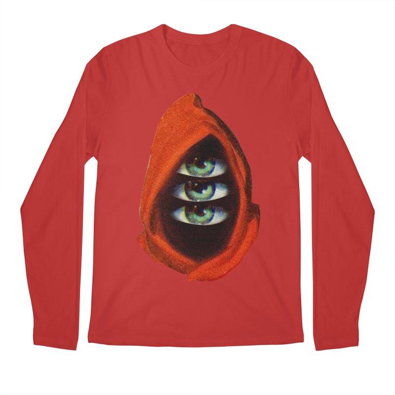 Three Eyed Druid Men's Regular Longsleeve T-Shirt by Tom Burns