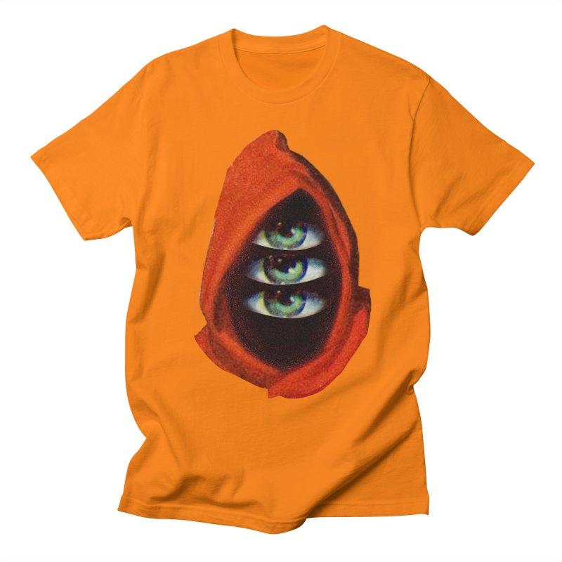 Three Eyed Druid Men's Regular T-Shirt by Tom Burns