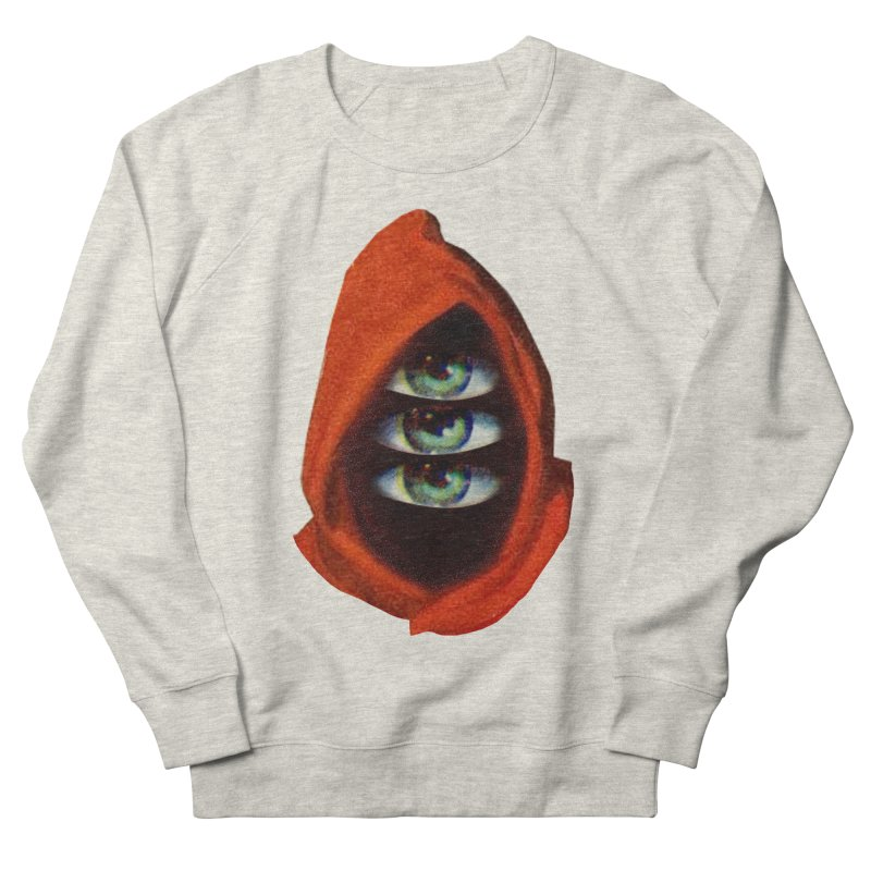 Three Eyed Druid Women's French Terry Sweatshirt by Tom Burns