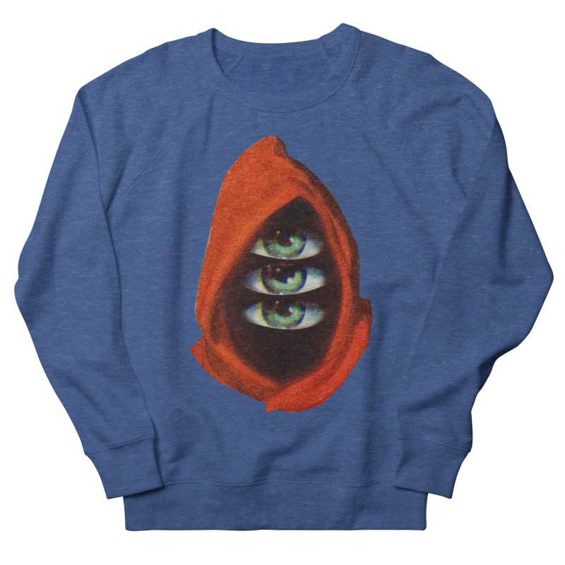 Three Eyed Druid Men's French Terry Sweatshirt by Tom Burns